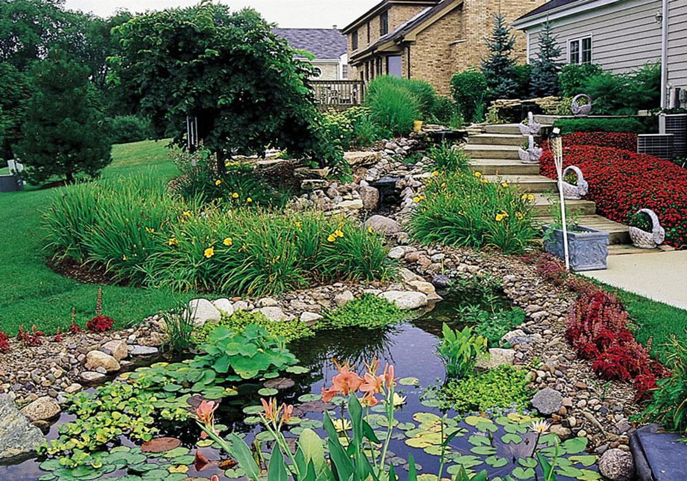 Ландшафтный дизайн описание сада